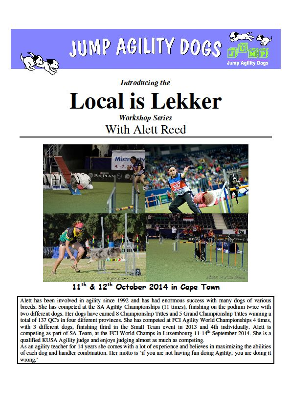 Local Is Lekker page 1