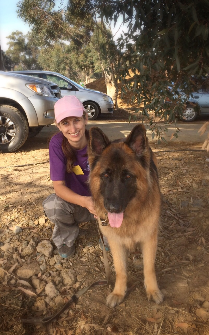 Lobo and Janine - Second in Companion Dog