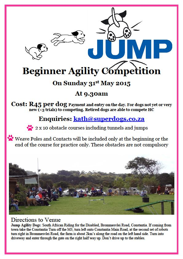 Jump Beginner Agility Competition - 31stMay2015